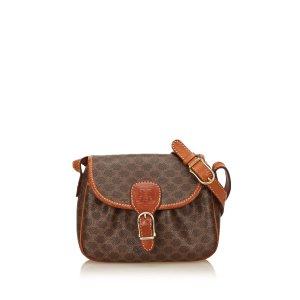 Celine PVC Macadam Shoulder Bag
