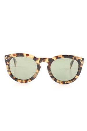 Celine Round Sunglasses multicolored simple style
