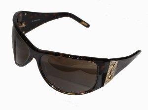 CELINE SC 1588S Sonnenbrille dunkelbraun Strass
