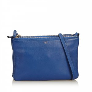 Celine Small Leather Trio Bag