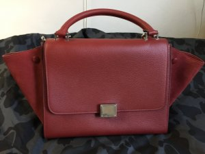 Céline small Trapeze in red