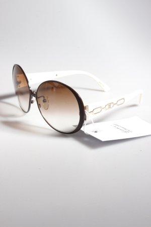 Celine Sonnenbrille creme-braun