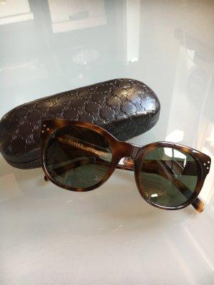 Celine Sonnenbrille Havana mit graugünen Gläsern