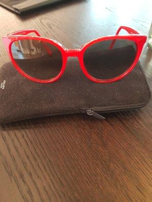 Celine Sonnenbrille in rot/neu