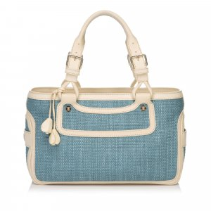 Celine Straw Boogie Bag