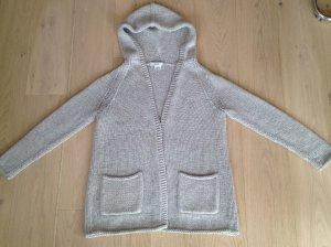 Celine Cardigan a maglia grossa grigio chiaro