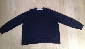 Celine Oversized trui donkerblauw
