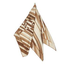 Celine Stripes Silk Scarf