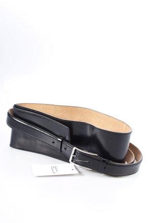 Celine Taillengürtel schwarz-silberfarben Eleganz-Look