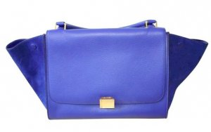 CÉLINE Trapèze leather handbag - Lederhandtasche
