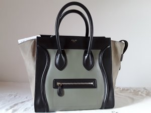 Celine Carry Bag multicolored leather