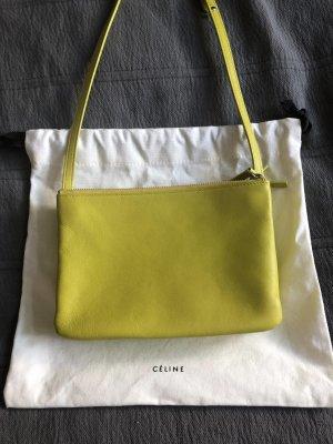 Celine Sac porté épaule jaune primevère-jaune cuir