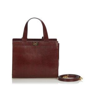 Celine Vintage Leather Satchel