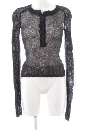 Celine Jersey de lana negro look casual