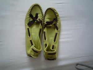 Cenedella Ballerinas mint leather