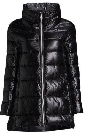 Censored Quilted Jacket black polyamide