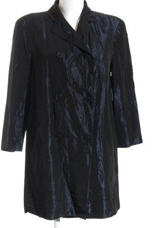 Cental Übergangsmantel dunkelblau schlichter Stil