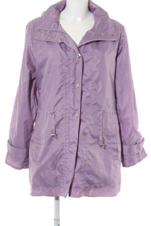 Centigrade Heavy Raincoat grey lilac casual look