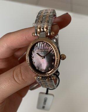 cerruti 1881 Watch With Metal Strap multicolored metal