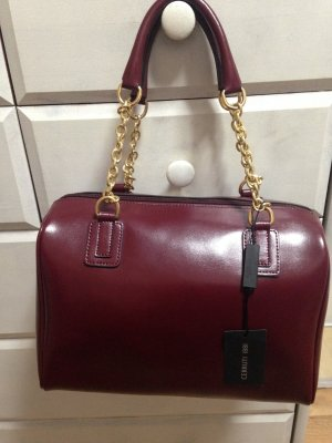 cerruti 1881 Sac Baril rouge-bordeau cuir