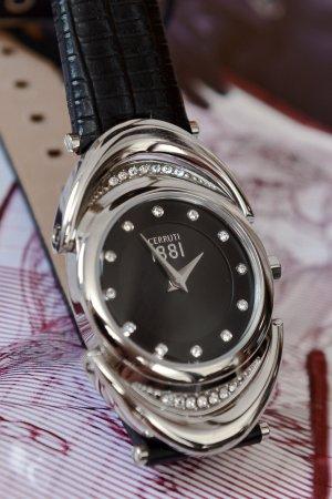 cerruti 1881 Orologio nero-argento