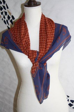 Cerruti Foulard en soie multicolore soie