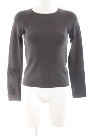 cerruti 1881 Crewneck Sweater light grey business style