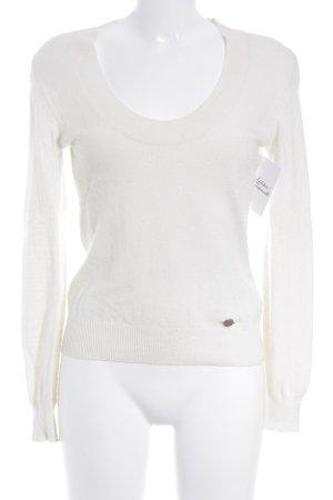 cerruti 1881 Crewneck Sweater natural white casual look