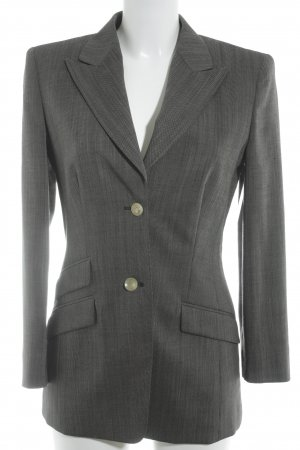 cerruti 1881 Smoking-Blazer graubraun-weiß meliert Business-Look