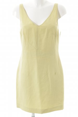 cerruti 1881 Trägerkleid neongelb minimalistischer Stil
