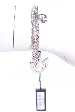 Cerruti Armband mit Perle silber