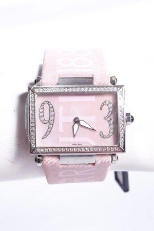 Cerruti Damenuhr mit Logoband rosa