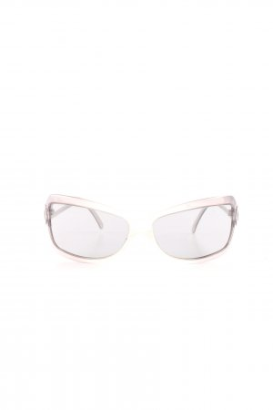 Cerruti eckige Sonnenbrille pink Casual-Look
