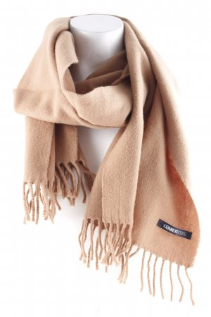 Cerruti Fringed Scarf brown business style