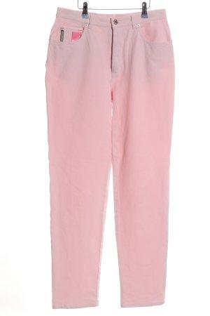 Cerruti High Waist Jeans pink casual look