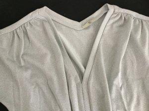 cerruti 1881 V-Neck Shirt silver-colored