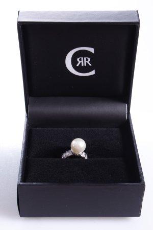Cerruti Ring mit Perle weiß 50