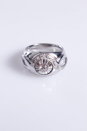 Cerruti Ring Schmuckstein Zacken 54