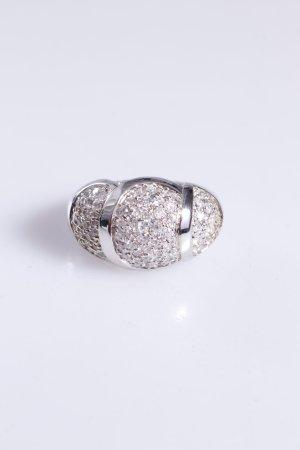 Cerruti Ring Schmucksteine silber 52
