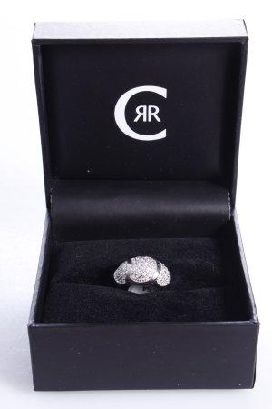 Cerruti Ring Schmucksteine silber 54