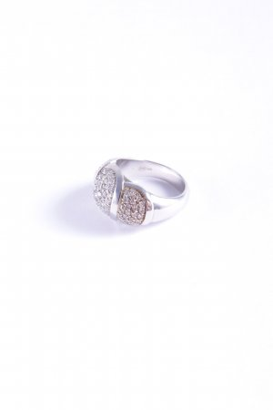 Cerruti Silver Ring silver-colored wet-look