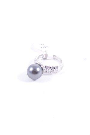 Cerruti Silberring silberfarben-grau Eleganz-Look