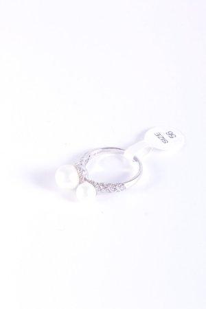 Cerruti Silver Ring silver-colored-white elegant
