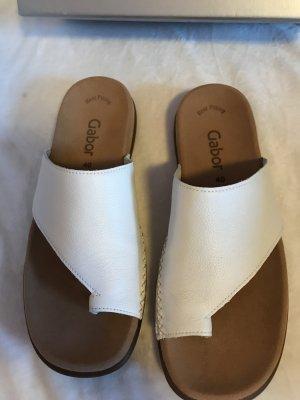 Gabor Sandalias cómodas blanco-crema
