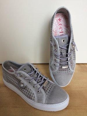 cetti Halbschuh Sneakers grau weiß Gr. 39