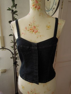 Chaloc Jeans Mieder Corsage Gr.36 NEU