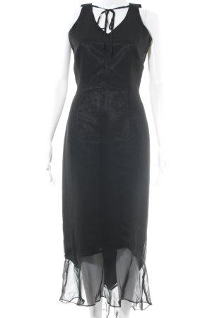 Chaloc Maxi Dress black simple style
