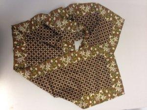 Chaloc Foulard en soie multicolore