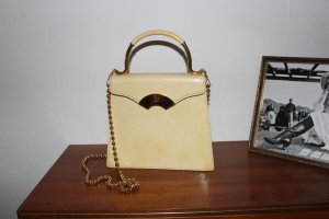 Champagnerfarbene Handtasche von Karl Lagerfeld Vintage