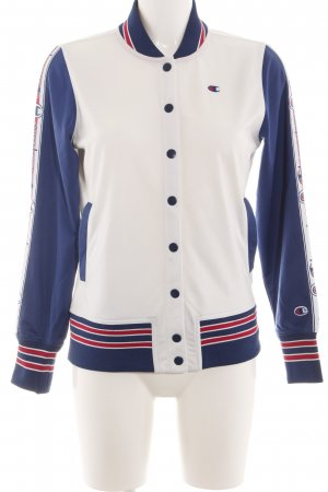 Champion College Jacket striped pattern casual look